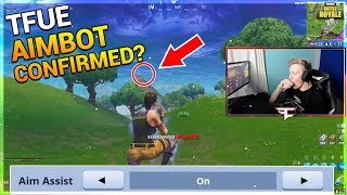 TFUE ACCUSED OF AIMBOT AFTER THIS CLIP! AIMBOT CONFIRMED? | Fortnite Twitch Moments and Highlights