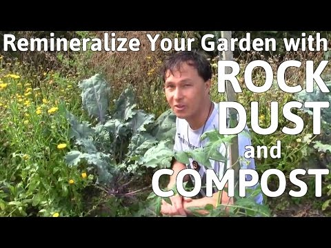Remineralize Your Garden Soil with Rock Dust & Compost