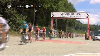 TDF passes through Circuit de Spa-Francorchamps
