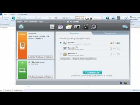 Método 1 - Atualizando LG Optimus One P500 para Gingerbrad 2.3