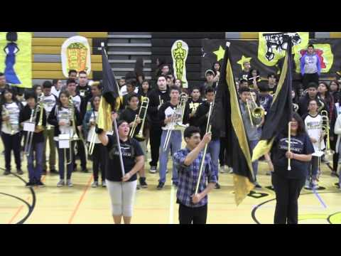 Bassett HS Marching Band UCLA Fight Song