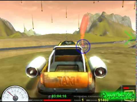игры гонки на машинах такси по городу