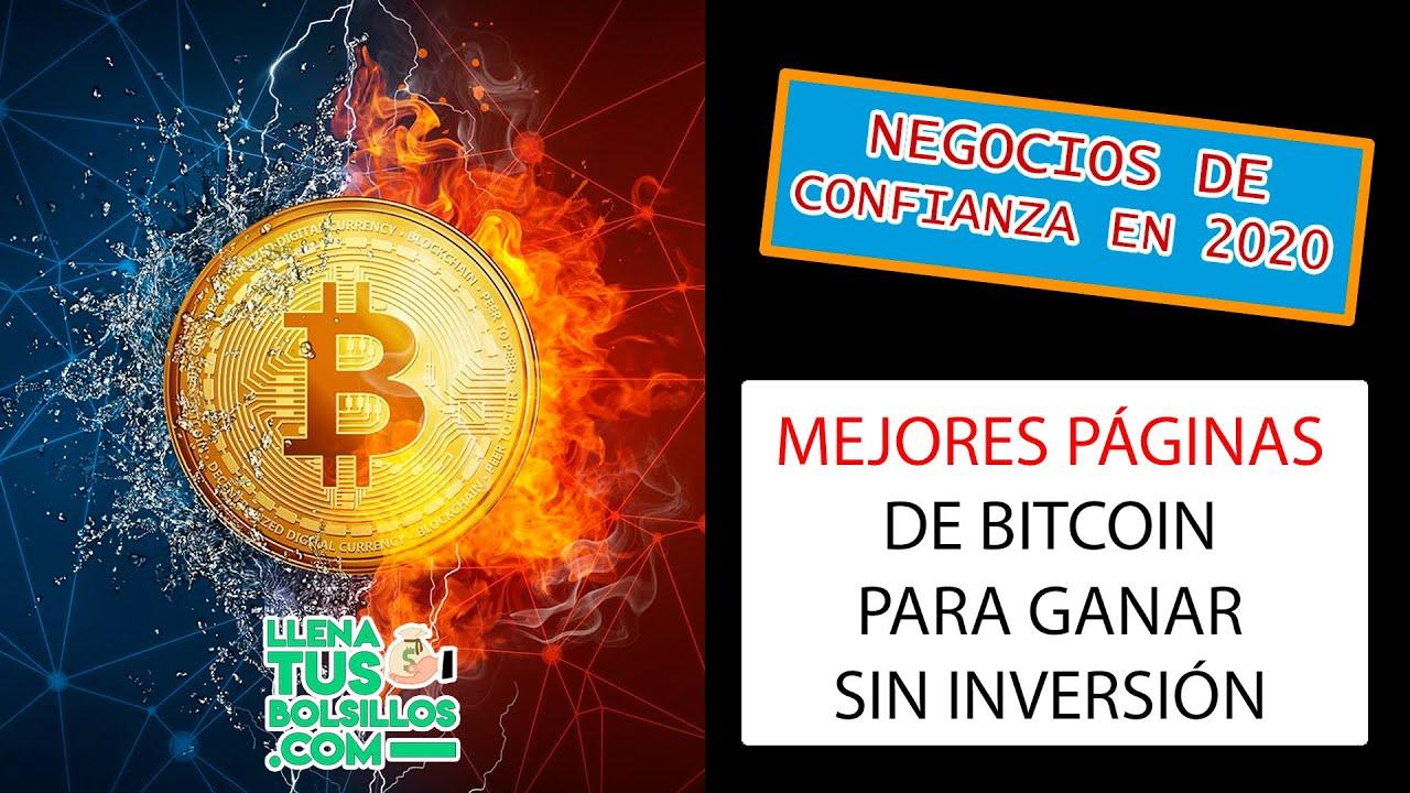 las mejores paginas para ganar bitcoins crypto pirkti signalus