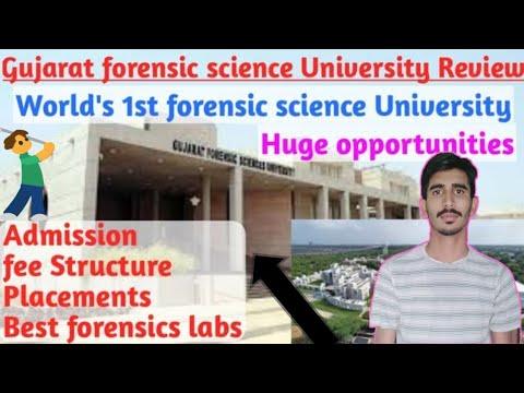 Gujarat Forensic Sciences University Logo