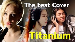 "Video The best cover ""Titanium"" (Mix Madilyn Bailey,J.Fla,Gam Wichayanee) download MP3, 3GP, MP4, WEBM, AVI, FLV Maret 2018"
