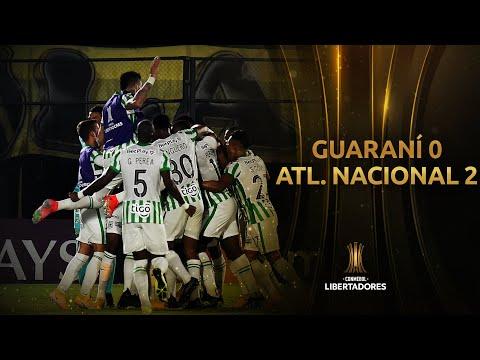 Guarani Atl. Nacional Goals And Highlights