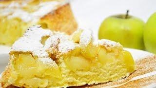 Шарлотка с яблоками | Просто вкусно