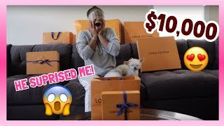 MY BF SUPRISED ME WITH $10,000 WORTH OF LV | BIRTHDAY VACATION REVEAL !!