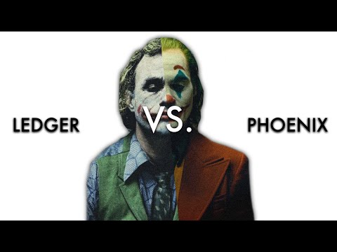 Heath Ledger vs. Joaquin Phoenix