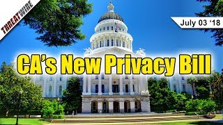 California's New Privacy Bill, Exactis Leak, & Gentoo Guthub Hacked - ThreatWire