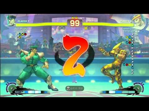 SSFIV Online: Gamerbee (Adon) vs AOI MOMO (M.Bison) TRUE-HD QUALITY