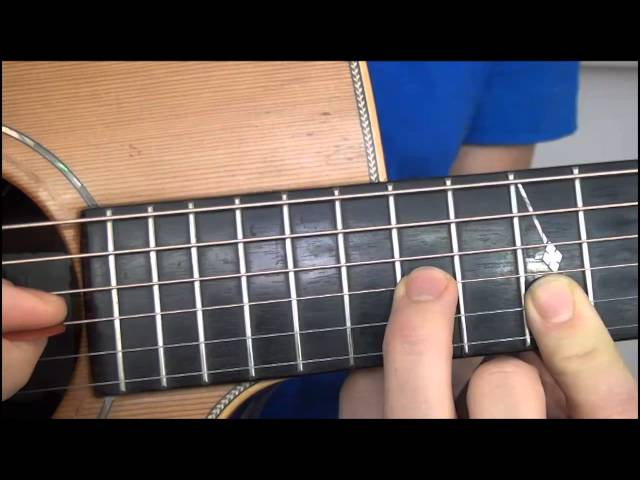 Coldplay - In My Place - gitaaruitleg - gitaarles
