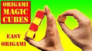 Origami EASY: Magic SPIRAL CUBES - Yakomoga Easy Origami