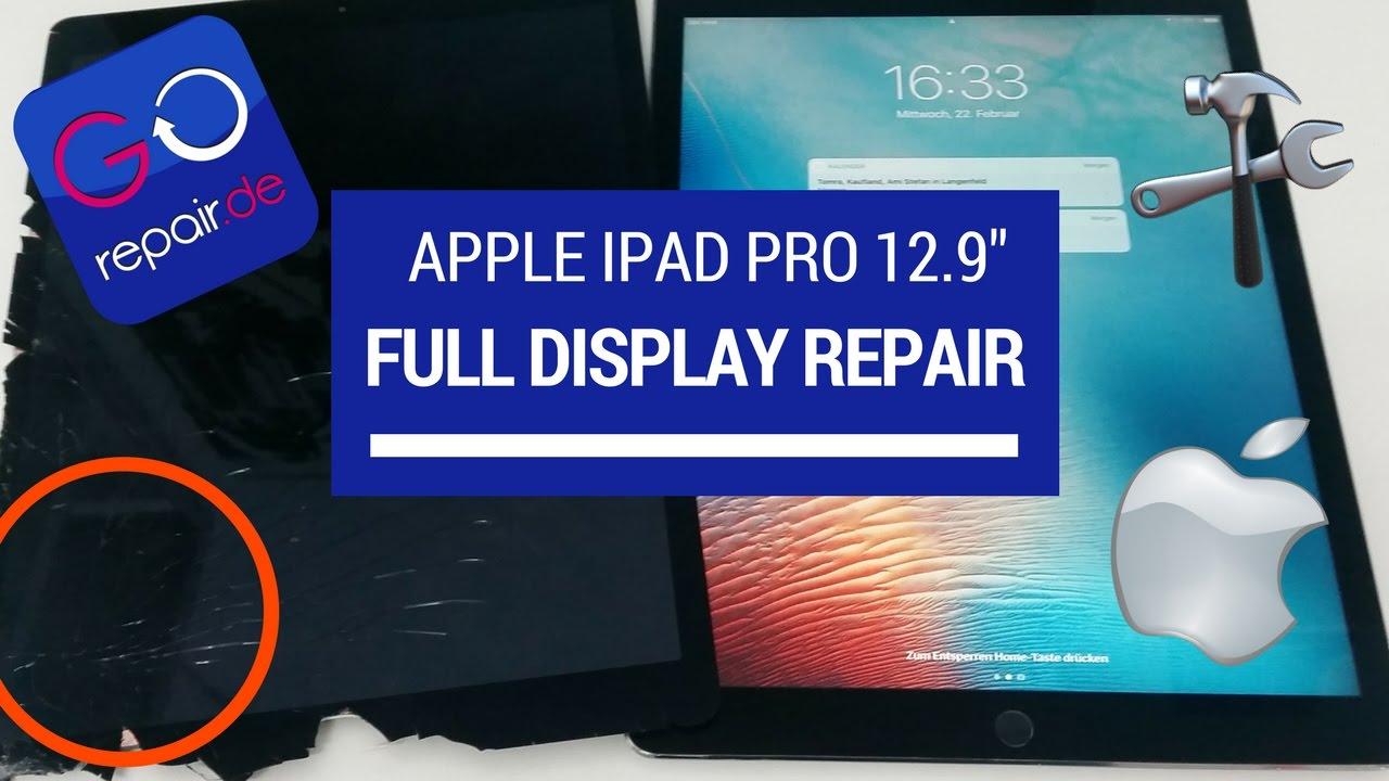 SUPER ANLEITUNG Apple IPad Pro 129 Display Tausch