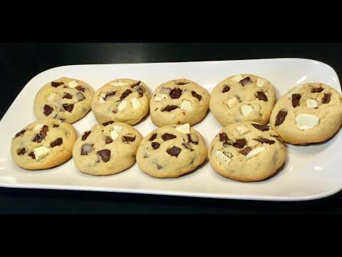 recette-express-les-cookies-trois-chocolats-fondants-À-l'intÉrieur-et-croquants-À-l'extÉrieur