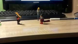 Лего война ниндзя против рыцаря кто победит?