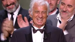 Standing ovation pour le géant Jean Paul Belmondo - César 2017