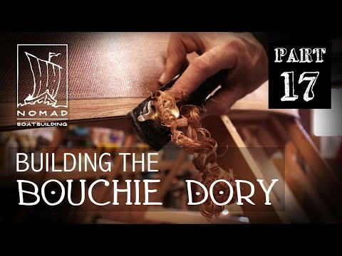 Building The Bouchie Dory Pt. 17 - Finishing The Garboards