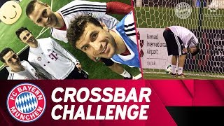 Crossbar Challenge w/ Müller, Kimmich, Rudy & Friedl 🔥⚽  | FC Bayern in Doha