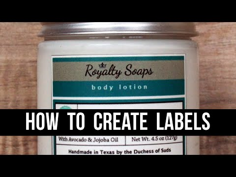 how-to-make-product-labels-(with-100%-free-software)---a-gimp-tutorial-for-beginners-|-royalty-soaps