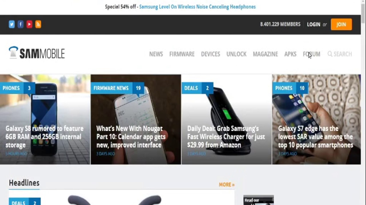 How to create Sammobile free account    (free download samsung firmware)