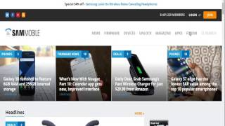 How to create Sammobile free account... (free download samsung firmware)