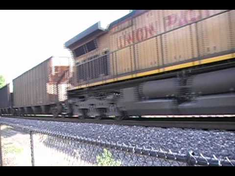 6/16/12 Railfanning Washington, MO on the Jefferson City Sub