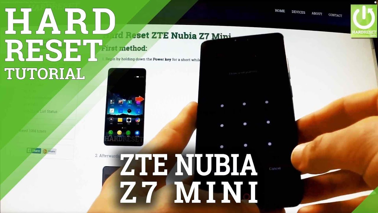 the apps zte max hard reset How