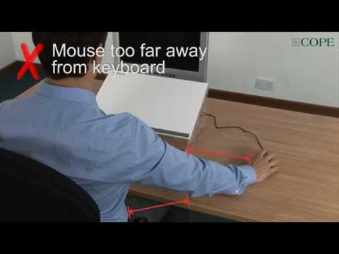 Using Computer Mouse in a High Risk Posture | COPE Occupational Health
