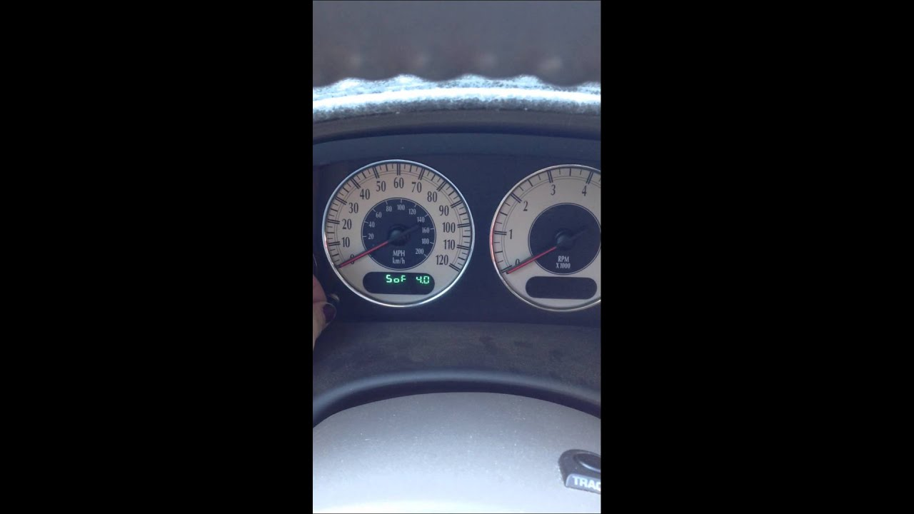 How To Fix Your Speedometer On A Chrysler Town N Country Youtube 2003 And Fuse Box