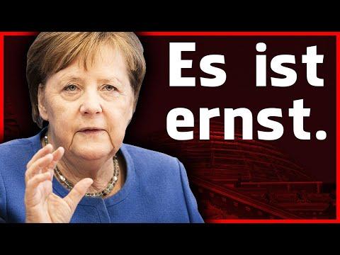 Angela Merkel Corona Rede