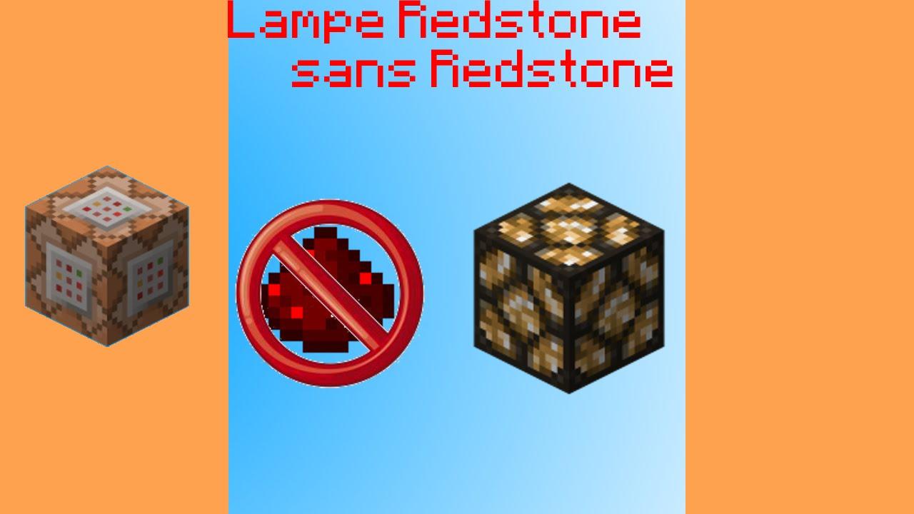 Sans Lampe Lampe Redstone De Allumée De iPXOkZu