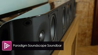 Paradigm Soundscape Soundbar Review