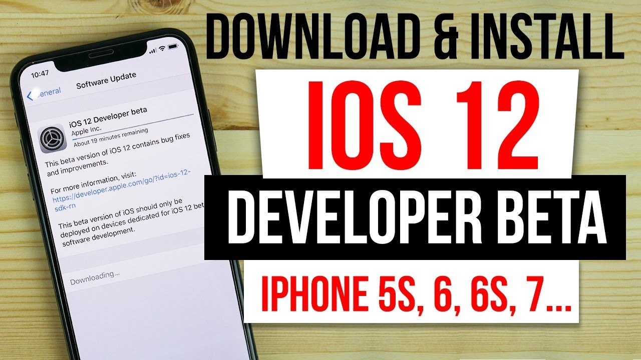 Ios 12 beta download for iphone 5s | Download iOS 12 Beta 2 iPSW for