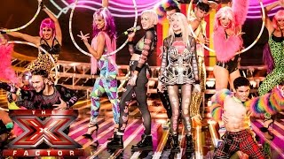 Blonde Electra sing Kids in America | Live Week 1 | The X Factor UK 2014