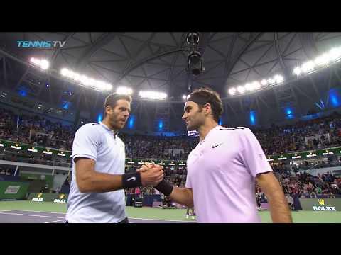 Nadal & Federer set to meet in Shanghai final | Shanghai 2017 Semi-Final Highlights
