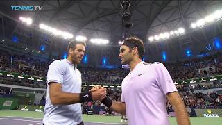 Nadal, Federer to meet in Shanghai final | Shanghai 2017 Semi-Final Highlights