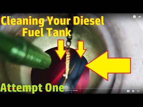 Cleaning A diesel Fuel Tank.....Sludge