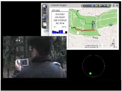 Field Navi(Field experiments for multimodal route navigation)