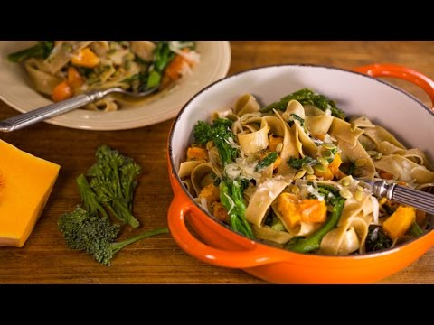Anne Burrell's Butternut Squash Pappardelle Is Delicious