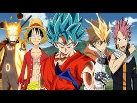 Goku vs Luffy vs ichigo vs natsu all in one fight