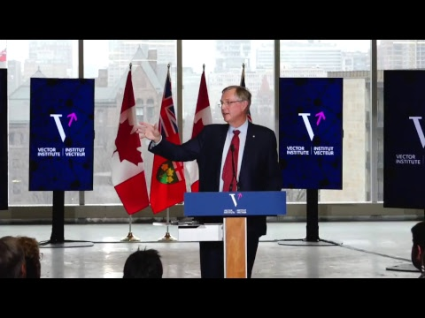 Live! Huge A.I. investment announcement for Ontario