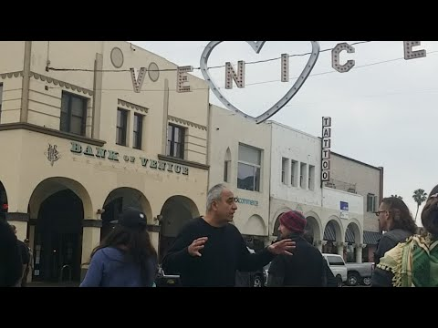 Protesting hotel Erwin at venice beach lapd pacific division and the bill of rights