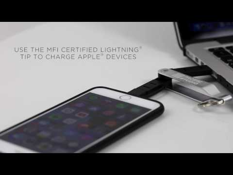 How to Use MFi Dual Lightning Micro Cable (#25824) for Android & Apple Devices?