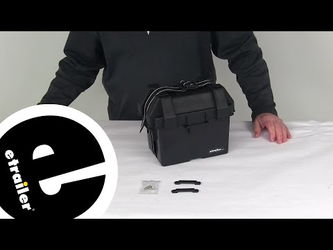 Etrailer | NOCO Battery Boxes - Equipment Battery Box - 329-HM082BKS Review
