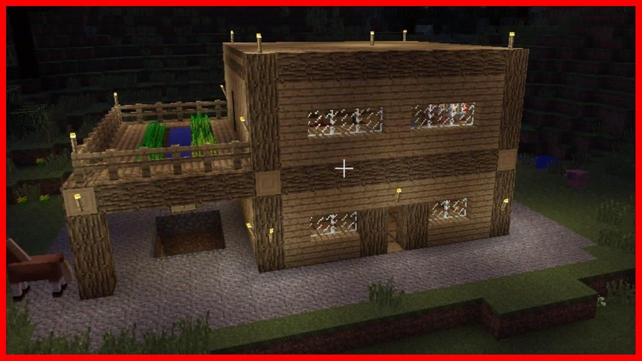 Minecraft: Wooden house tutorial