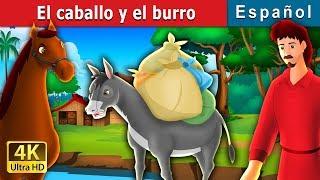 El Caballo Y El Burro   Cuentos Para Dormir   Cuentos De Hadas Españoles