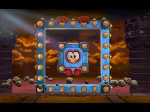 Super Mario 3D World 100% Walkthrough Part 12 - World 5 (5-B, 5-6, 5-7, 5-C) Green Stars & Stamps