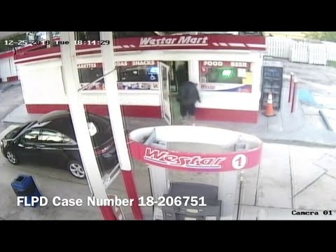 Surveillance video shows