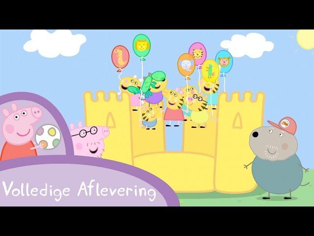 Peppa Pig Nederlands Compilatie Nieuwe Afleveringen | Het schoolfeest | Tekenfilm | Peppa de Big